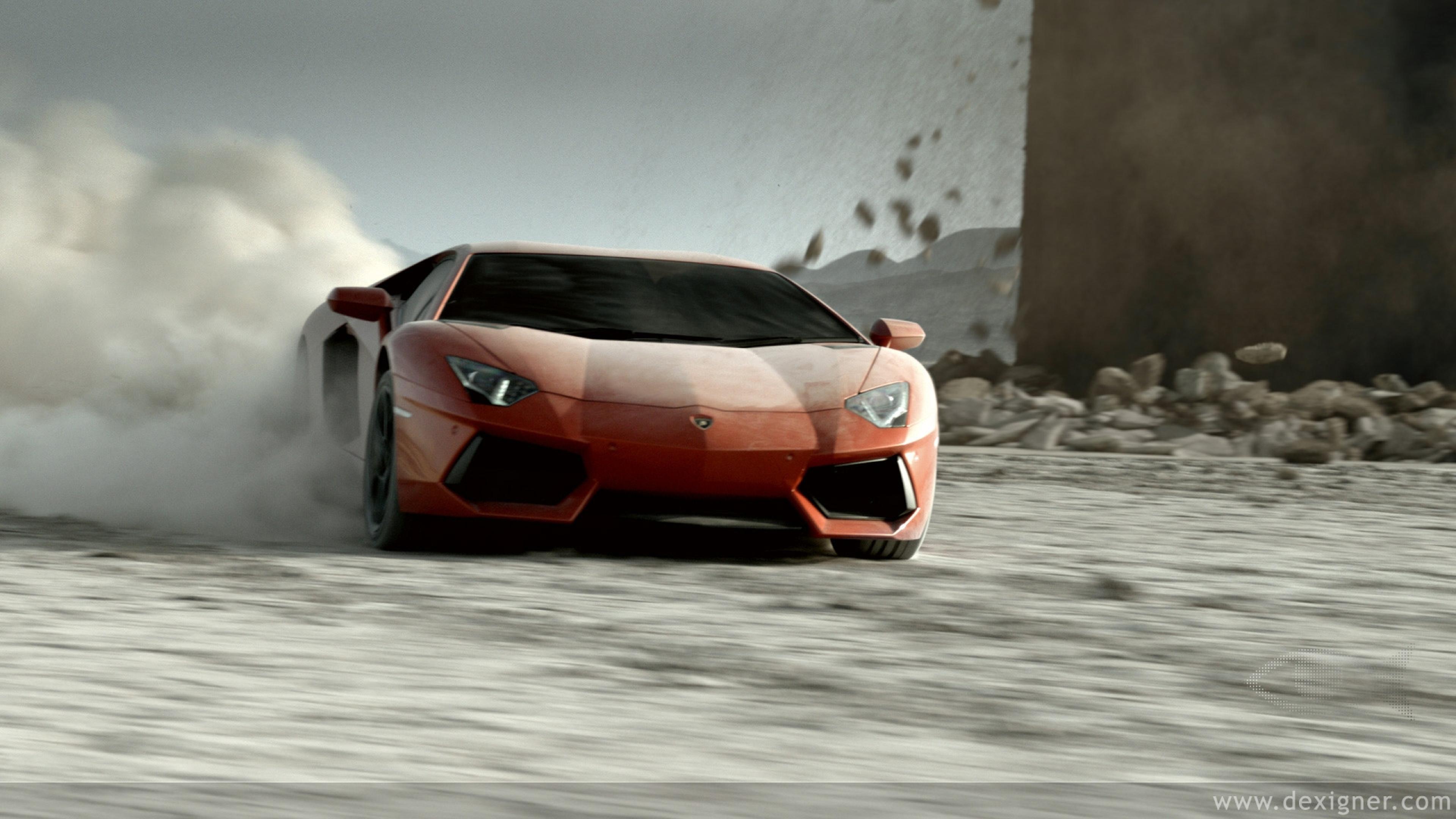 споротивный автомобиль Lamborghini Aventador  № 2429946 загрузить