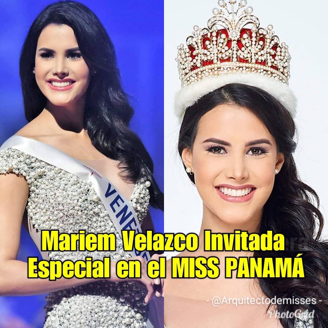 UN REINADO EXITOSO- Mariem Velazco será invitada especial al Miss Panamá 2019 1CO7RC