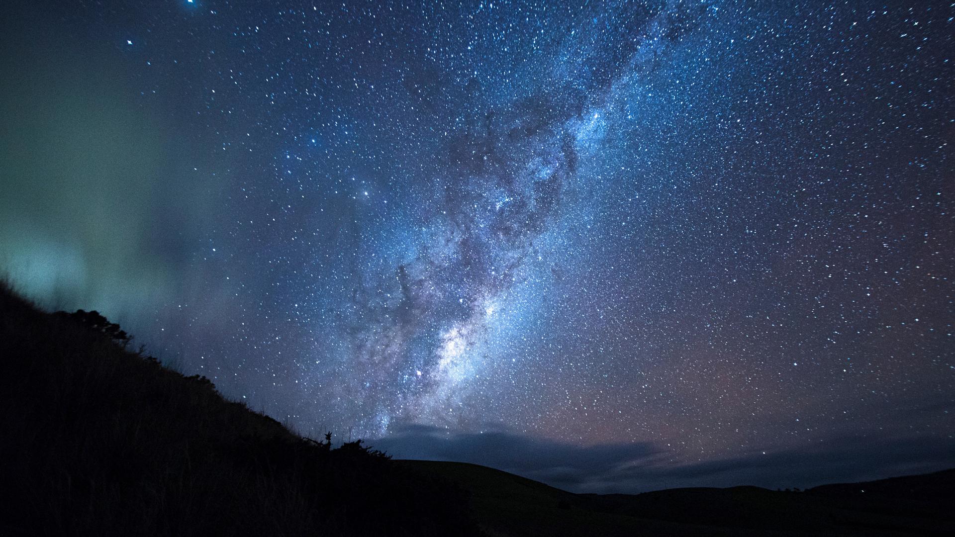 фото звездное небо на рабочий стол кур это