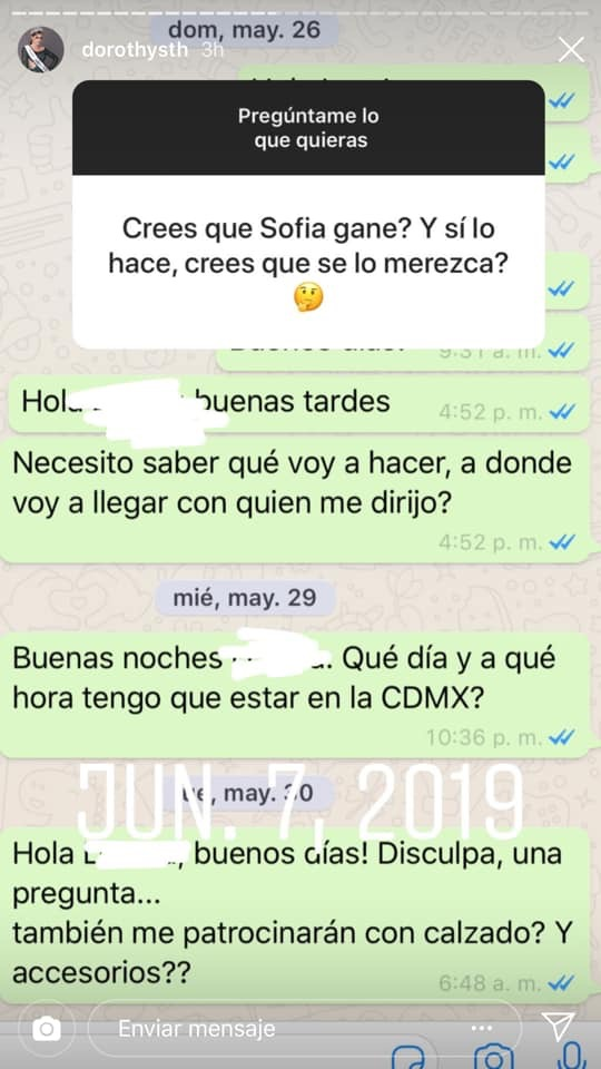 Se reduce a 31 las candidatas a Mexicana Universal 2019, Miss Jalisco - Dorothy Sutherland, fue eliminada de la competencia 1PI2SS