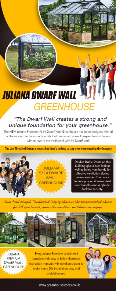 Juliana Compact Greenhouse - buy online now at the best prices https://www.greenhousestores.co.uk/Juliana-Premium-9x14-Dwarf-Wall-Greenhouse.htm  Service Juliana Premium 9x14 Dwarf Wall Greenhouse Juliana 9x14 Dwarf Wall Greenhouse Juliana Dwarf Wall Greenhouse Juliana Premium Dwarf Wall Greenhouse  Juliana greenhouses are designed and manufactured allowing for the snow and wind conditions; these top quality greenhouses are extremely strong with a unique modern feel. They are packed with features such as low threshold stable doors, concealed gutters, black fittings, decorations and much more. With over many years in greenhouse manufacture, Juliana is now offering this superb new range of Juliana Compact Greenhouse backed up with UK customer support.  Contact us Add-338 Lichfield Road,Sutton Coldfield,B74 4BH UK Call us : 0800 098 8877  Email-support@greenhousestores.co.uk  Find us https://goo.gl/maps/N3w47e4mhrJ2  Social https://twitter.com/greenhousesuk https://disqus.com/by/greenhousesaleoffe/ https://www.diigo.com/profile/greenhousesale https://www.flickr.com/photos/hallsgreenhouseleanto/ https://www.youtube.com/channel/UCn15qhCGe7d2F3eDrSJAevQ