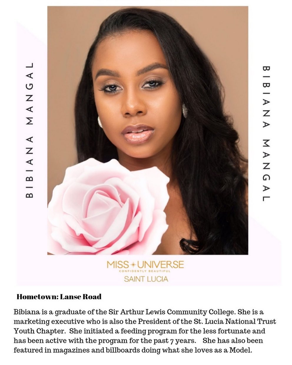candidatas a miss universe st. lucia 2019. final: 31 de agosto. 1XeYyN