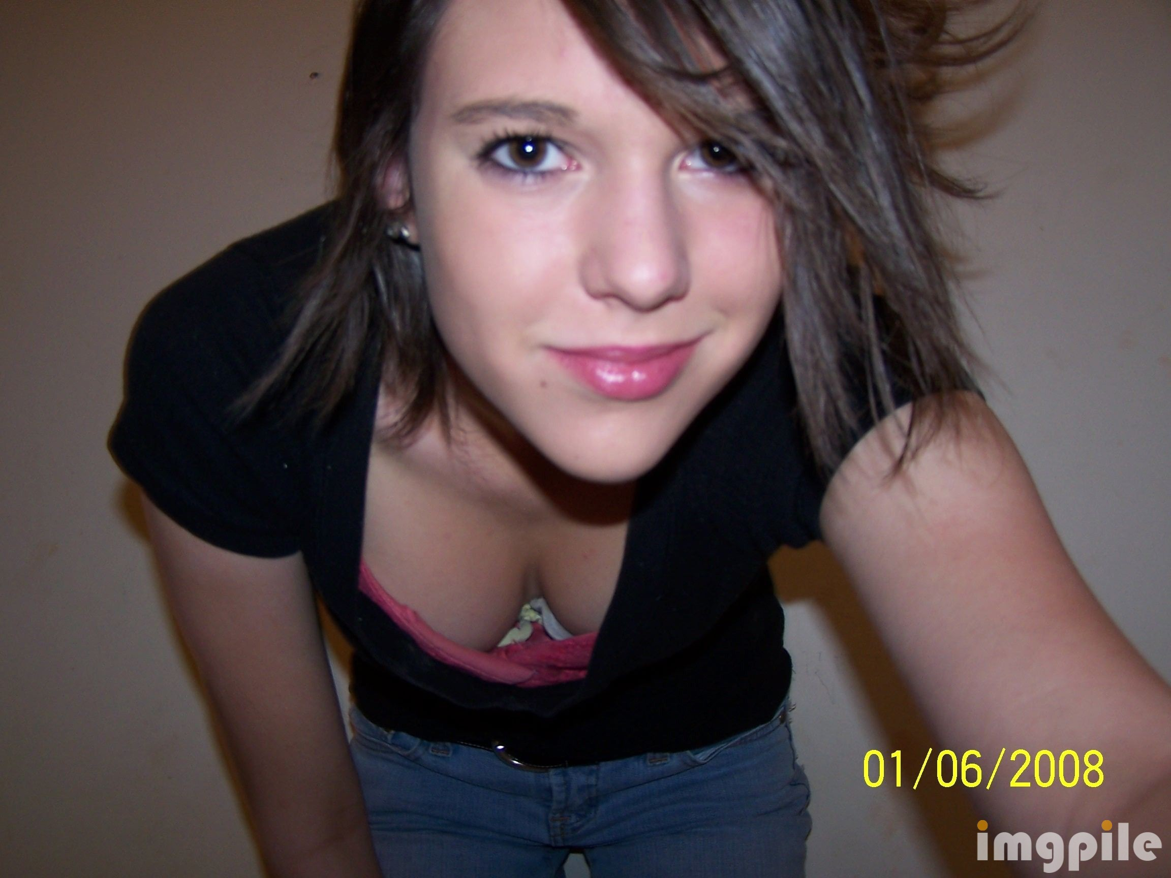 Hot Young Teen Downblouse Jeans - Imgpile-4646