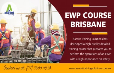 EWP training in Brisbane with experienced height safety specialists at https://ascenttrainingsolutions.com.au/courses/yellow-card-course/  Find here: https://goo.gl/maps/aM6SEfwzMjt  Service:  ewplicence under 11m yellow card brisbane yellow card scissor lift boom lift license boom lift operator course  As much as there are many manufacturers and assemblers of elevated work platforms, there is a need to sort out which ones are dependable and which companies have to be avoided at all costs. Reputable brand names guarantee quality and are internationally recognized. Well established companies take their time to integrate fresh ideas and technologies into their equipment to ensure that the operator's security as well as the rest of the crew is on watch. Furthermore, customers of such companies enjoy lifetime support, including the ewp training in Brisbane to ensure that the machine is operated appropriately.  Contact:25 Shannon Pl ,  Virginia, Queensland 4014, Australia  Email:enquiries@ascent.edu.au Phone Number:07) 5658 0040 | +61  0404 765 828  Social:  https://www.reddit.com/user/Riggingtraining https://padlet.com/scaffoldingTicketBrisbane https://en.gravatar.com/dogmancoursebrisbane https://www.diigo.com/user/riggingtraining https://disqus.com/by/RiggingtrainingBrisbane/ https://enetget.com/AscentQLD https://remote.com/ascentqld http://www.alternion.com/users/ascenttraining/ https://riggingtrainingbrisbane.contently.com/ https://www.reverbnation.com/riggingtrainingbrisbane https://archive.org/details/@riggingtrainingbrisbane