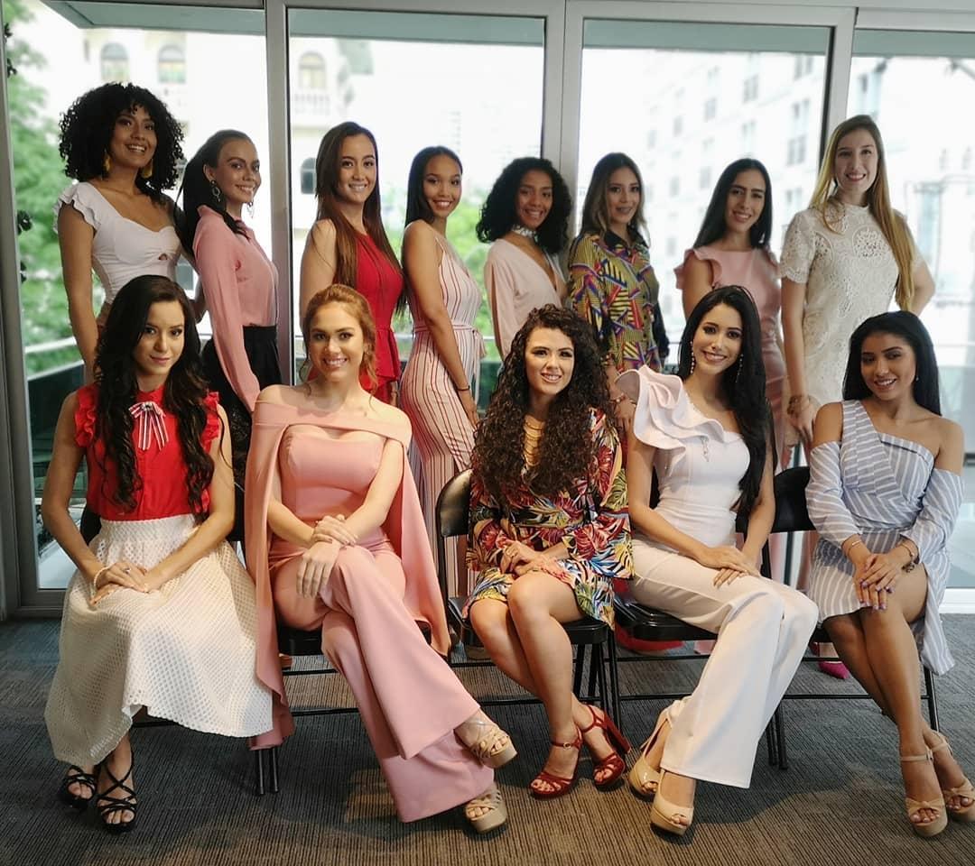 candidatas a miss panama mundo 2019. final: 19 sept.  1f05ta