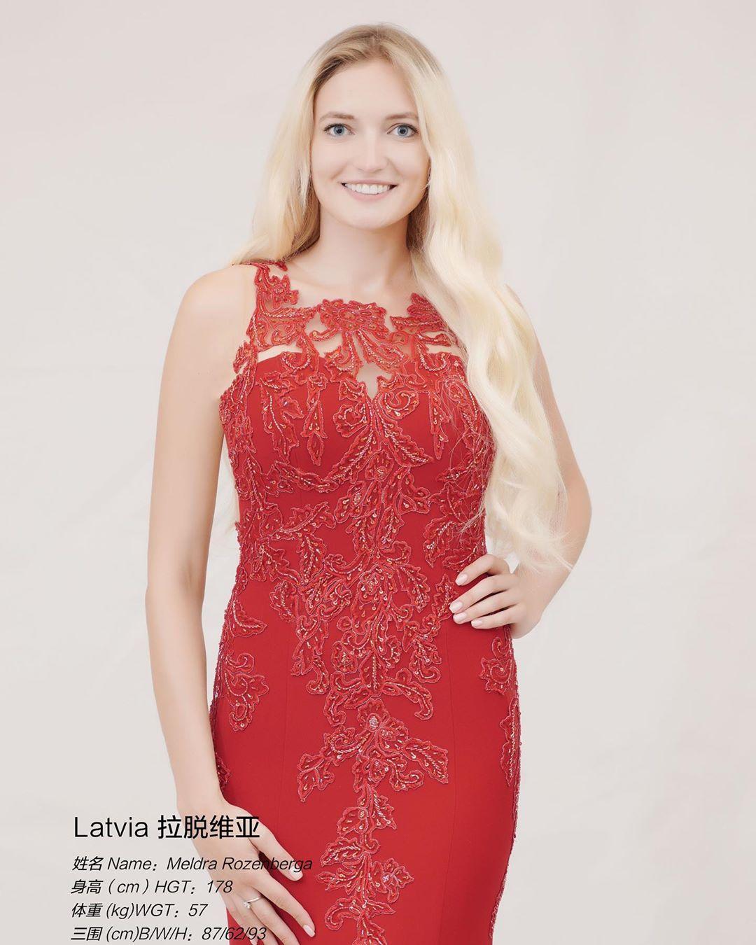 candidatas a miss tourism world 2019. final: 6 oct. sede: china. 1g9MQR