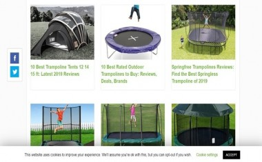 Children are basically searching for an adventure. They have developing muscles holding back to be utilized and furthermore a craving for satisfaction standing by to be fulfilled. So in case you're on the quest for toys, here are some toys that you may wish to consider: For more snap here https://socialenterprisebuzz.com/10-best-trampoline-tents-12-14-15-ft-most recent 2019-surveys.   Web: https://socialenterprisebuzz.com/10-best-trampoline-tents-12-14-15-ft-latest-2019-reviews/  #https://socialenterprisebuzz.com #www.socialenterprisebuzz.com #socialenterprisebuzz #https://www.socialenterprisebuzz.com