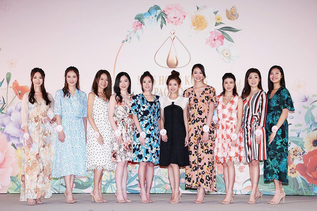 candidatas a miss hong kong 2019. final: 8 sept. (vencedora ira a miss chinese international 2020). 1qJQHo
