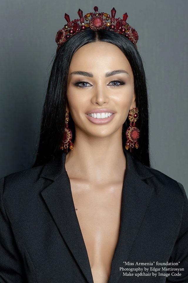 candidatas a miss armenia 2019. final: 9 & 15 july. 1su2th