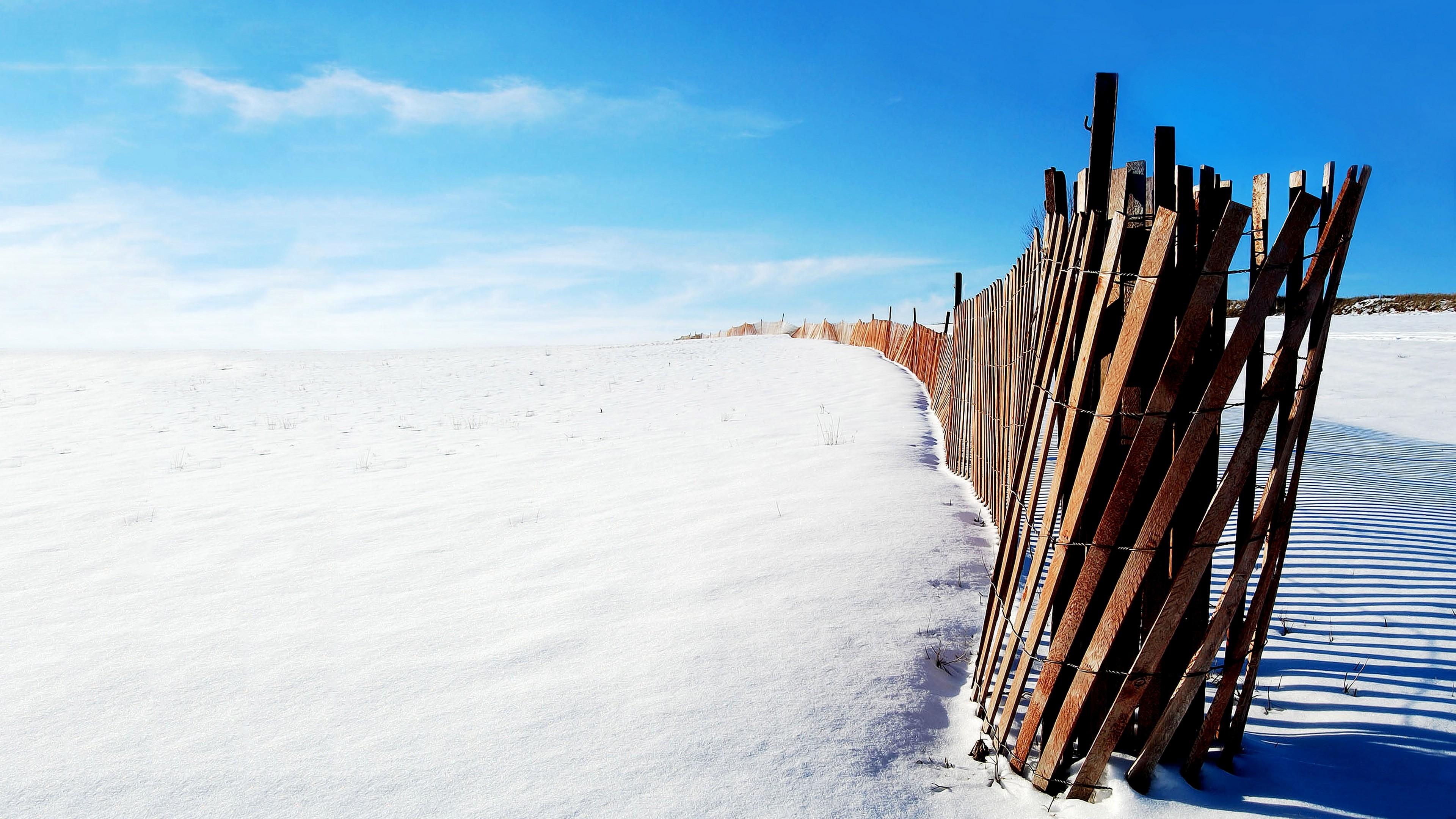 забор снег зима без регистрации