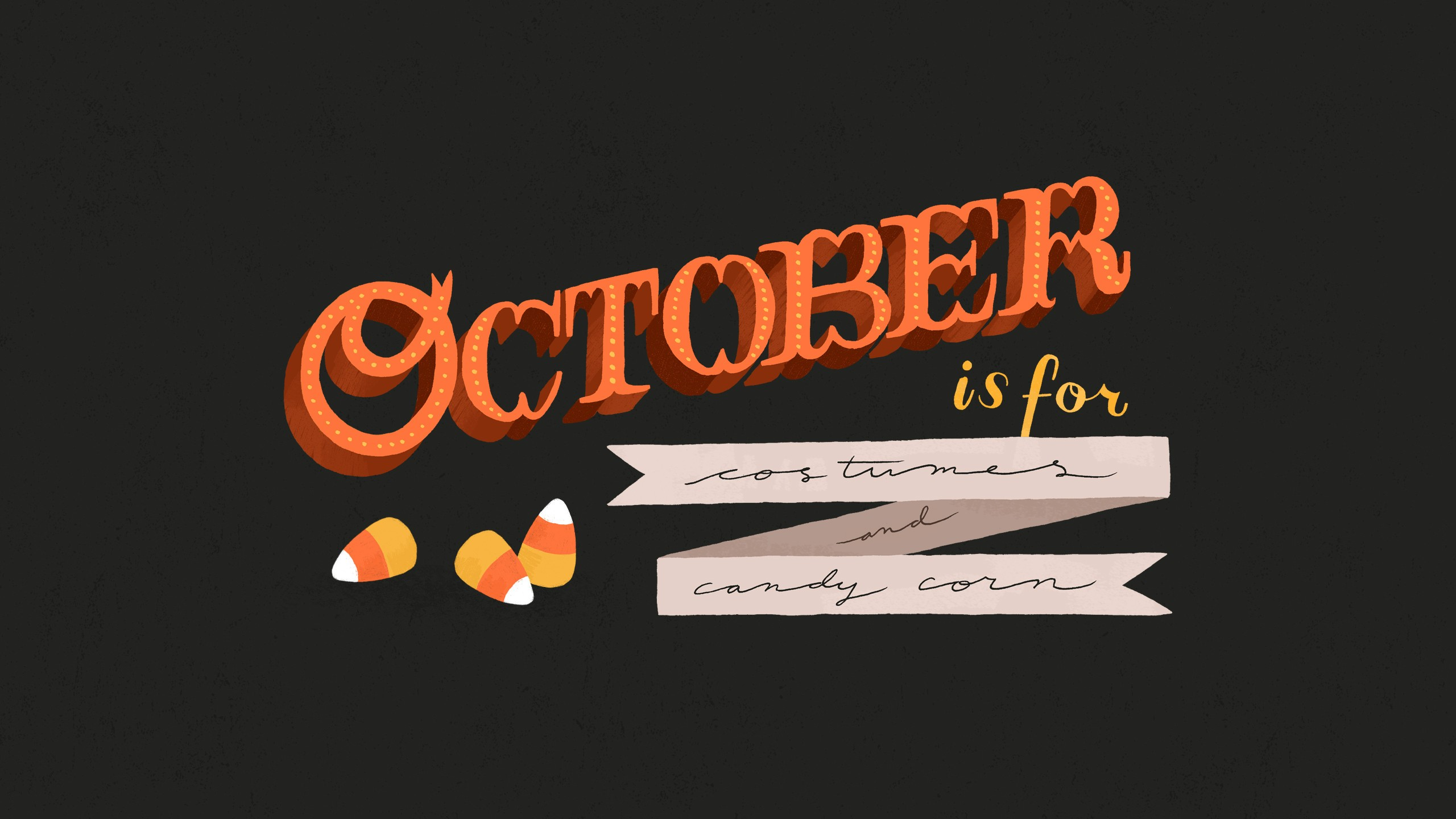 October - HD2560×1440