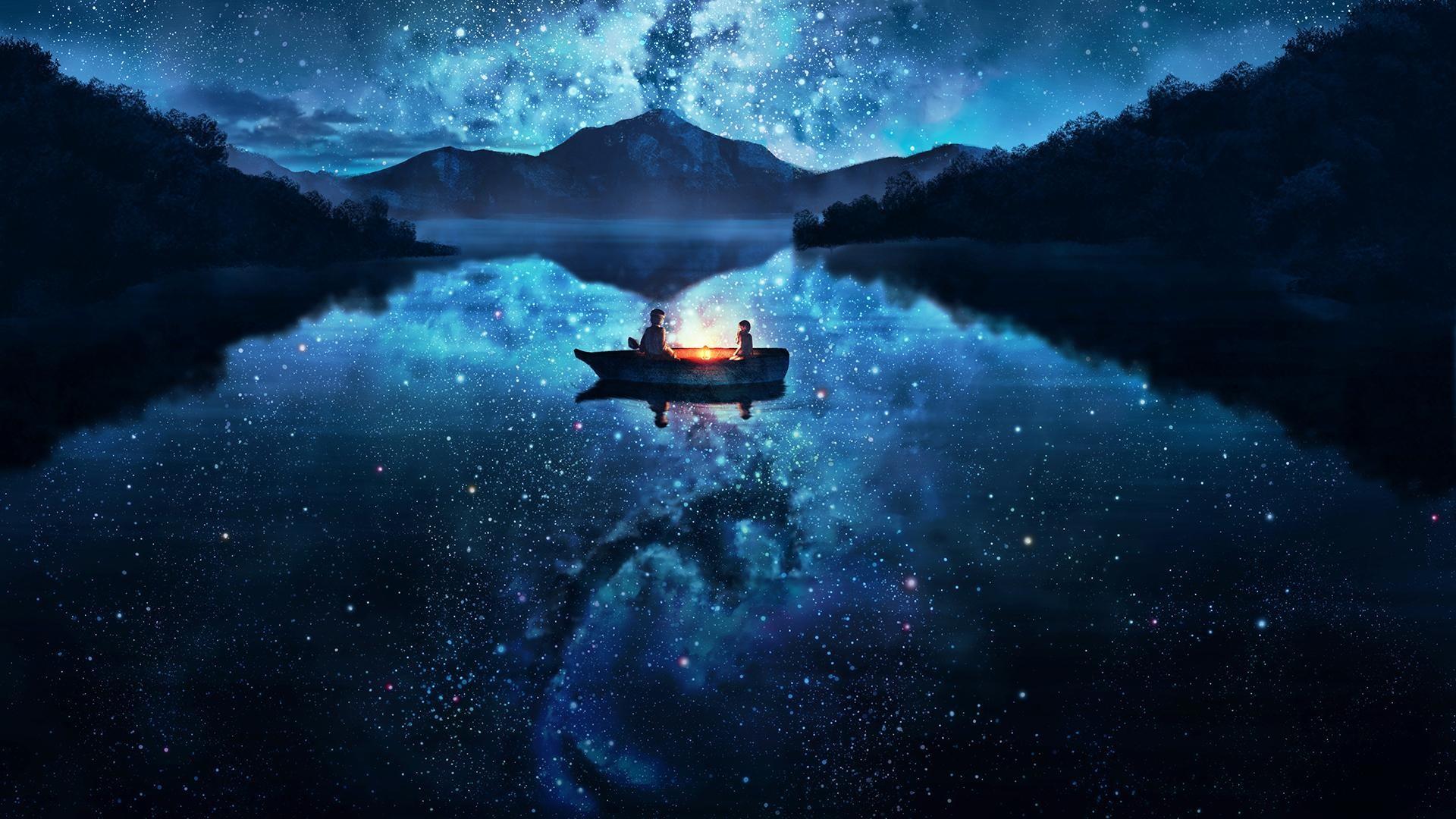 лодки ночь  № 3506415 без смс