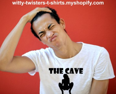 The Cave is a 2005 monster movie about cavers who become trapped and encounter a pack of deadly creatures. This The Cave t-shirt however is about a woman's vagina. If you like to go spelunking into the spaces between women's legs, then wear this sexy vaginal cavers t-shirt and start exploring that cavernous pussy.  Buy this sexy adult humor monster movie t-shirt here:  https://witty-twisters-t-shirts.myshopify.com/search?q=The+Cave