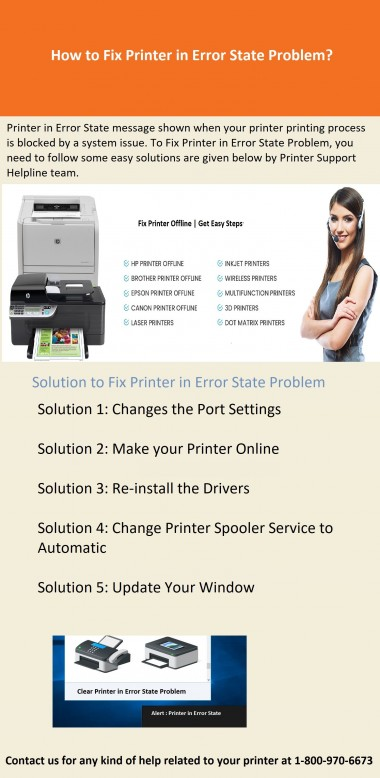 Watch the Infographics and Learn Easy Steps to Resolve Printer in Error State Problem Online with the Help of Newlite IT Solutions Expert. Related Blog: https://www.newliteitsolutions.com/our-blog/printer-in-error-state/