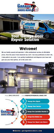 Call our garage door specialists in Murrieta, CA for affordable and countable garage door repair, replacement or maintenance service. Garage Doors Hero provides a full consultation to explain available options so that you can choose the service that's right for your home. For more details please visit: https://garagedoorshero.com/