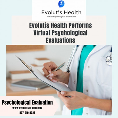 Virtual Psychological Evaluations are for you based on fully telemedicine-based services through the HIPPA platform. Mostly used in the following services are counseling, adoptions, and many more for you by qualified psychologists. Visit our website to book the appointment and for all your questions answer click here: https://www.evolutishealth.com/ or call on 877-219-8726.
