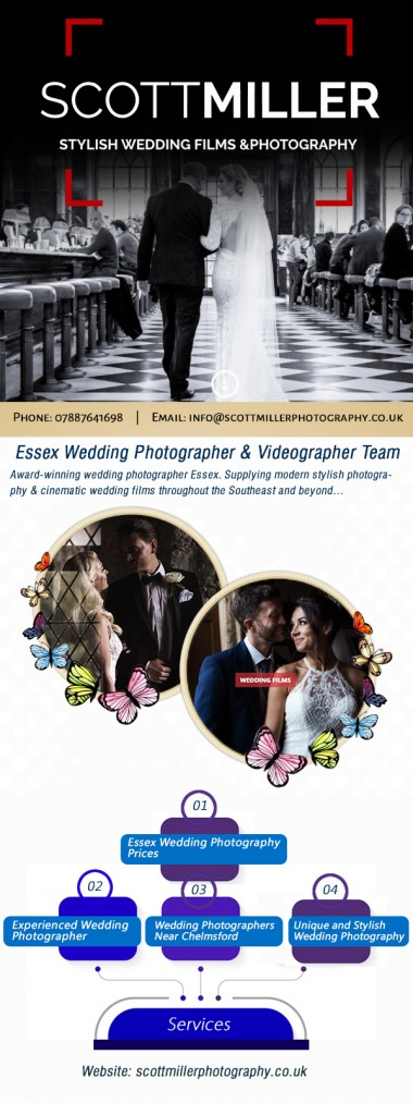 If you think like it's hard to capture the moment amidst the hustle and bustle on your wedding day, hire the versatile wedding photographers of Scott Miller Photography near Chelmsford and gear up to transform your thinking. With an advanced knowledge of lighting gained through years of creating professional images mixed with a natural talent of capturing the most intimate of moments. For more details please visit: https://scottmillerphotography.co.uk/