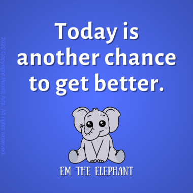 Today is another chance to get better. #motivation #inspiration #lifequote
