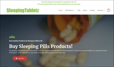 Associating patients straight forwardly with reputable medical pharmacies. Purchase best Sleeping Pills from Sleeping Tabletz in UK with free Next Day delivery in UK.  https://sleepingtabletz.com/   We are an EU Online Doctor service, partnered with various pharmacies to provide treatments for a number of health conditions. We act as a platform, connecting patients directly with reputable medical consultants and pharmacies. All medical consultation and help provided is under the supervision of EU doctors who have specific areas of expertise relating to our products.Our patient's health is our priority. We provide the correct diagnosis, prescription and medication, all from reputable sources. As a company, we carry out the required procedures by asking patients to fill in our online questionnaire on the treatment that they have requested, thus verifying the appropriate medication has been applied to their condition. Every consultation and prescription is performed by an experienced EU doctor.  #Sleepingtabletspharmacyonline #Onlinesleepingtablets #SleepingtabletsinUK #Buysleepingtablets #Buysleepingtabletsonline #OnlinepharmacyinUK #Buysleepingpills #InsomniasolutioninUK #BuypregabalinUK #Pregabalinforsale #SleepingtabletsUK #Buyzopiclone10mgcapsule #Onlinepregablin300mgcapsules #Sleepingtabletsonline #OnlineInsomniatreatmenttablets #BuyonlinesleepingpillsUK #OrdersleepingpillsUK #Onlineordersleepingtablets #OnlinequalitysleepingpillsUK #Buytramadol50mg #Onlinebestsleepingpills #UKonlinepharmacy #Buysleepingtablets #Buysleepingtabletsonline #Sleepingtablets #BuyonlinesleepingtabletsinUK #Insomniatreatmenttablets