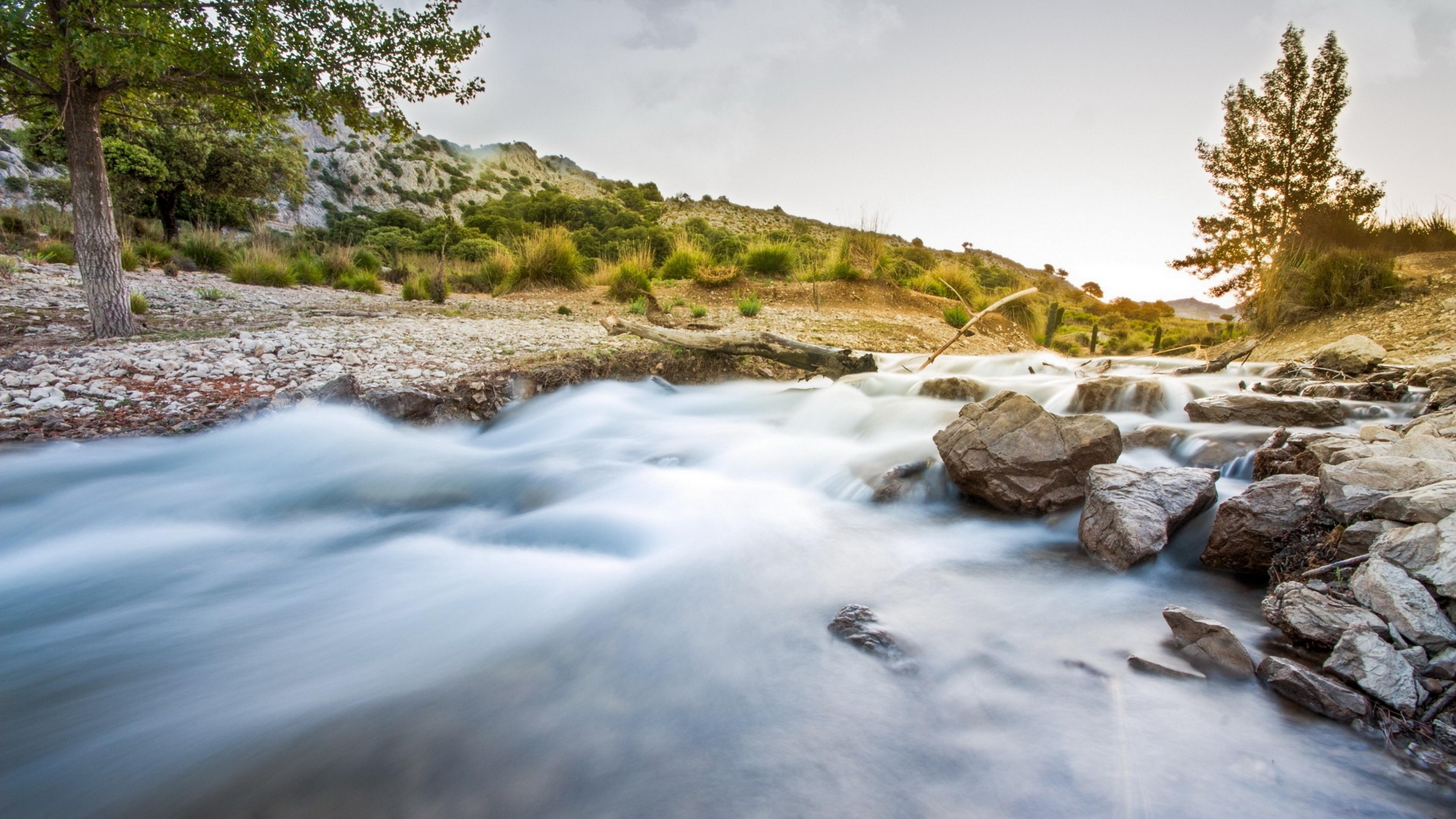 Река в камн  № 2387314  скачать