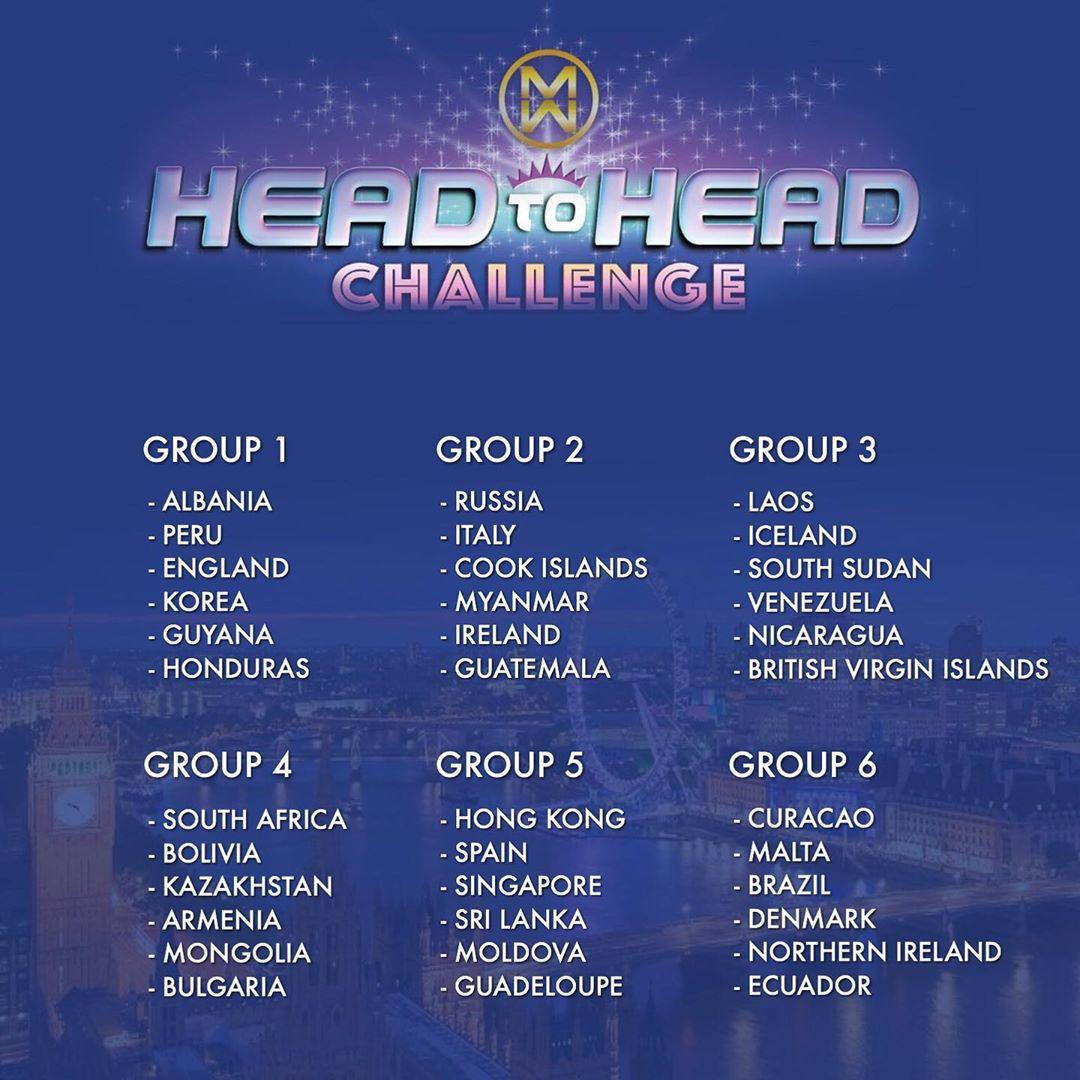 head to head challenge de miss world 2019. I1aE3w