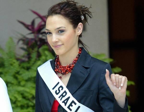 recordando gal gadot, famosa atriz, miss israel 2004, durante miss universe 2004. I3ru1X