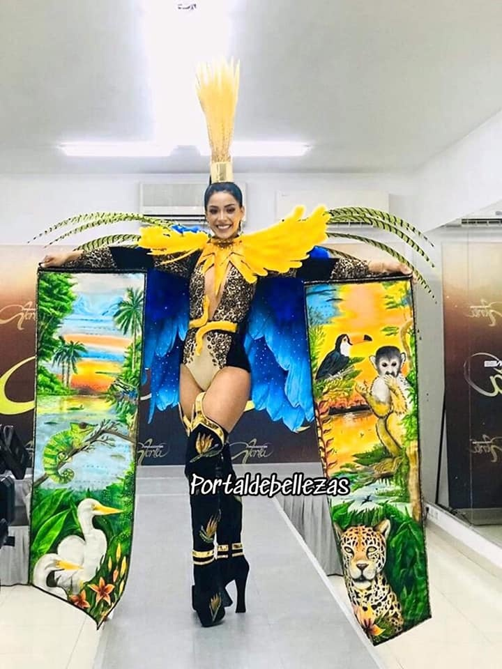 trajes tipicos de candidatas a miss universe 2019. IIqloc