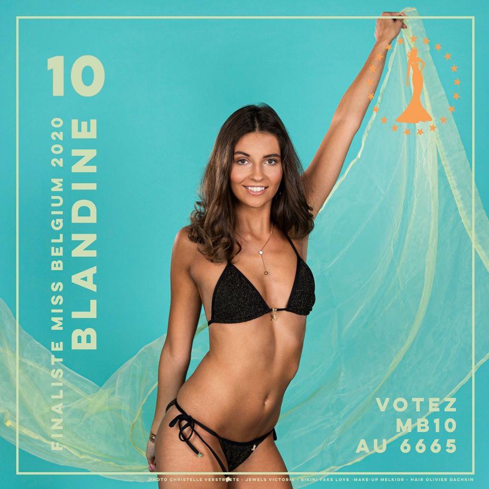 candidatas a miss belgium 2020. final: 11 january. IRSayL