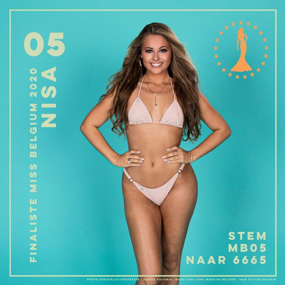 candidatas a miss belgium 2020. final: 11 january. IRSvTg