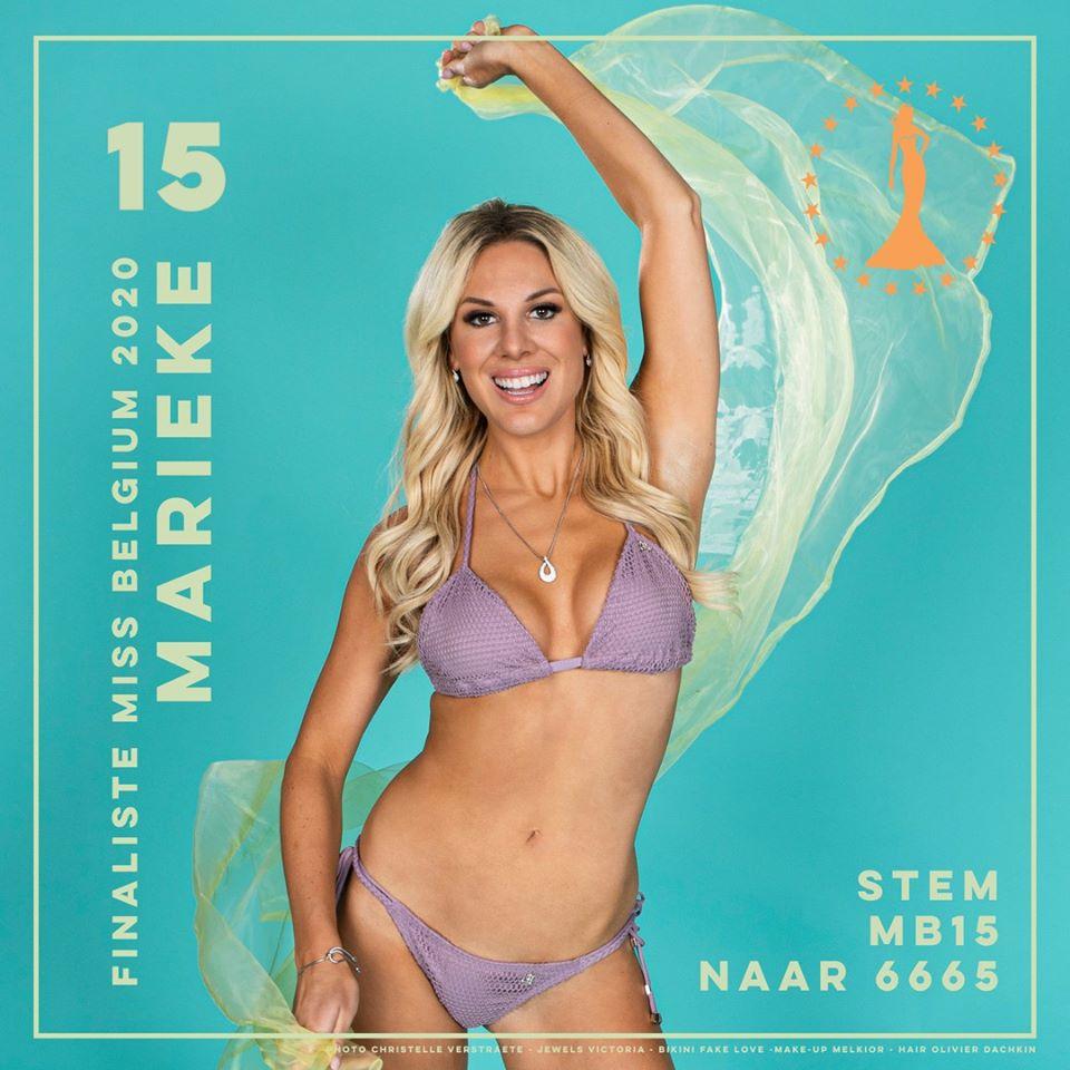 candidatas a miss belgium 2020. final: 11 january. IRZIlS