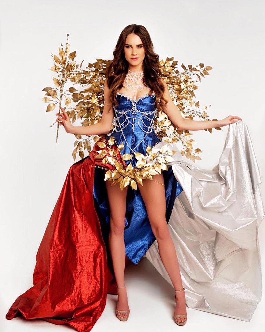 trajes tipicos de candidatas a miss universe 2019. Iunuqo