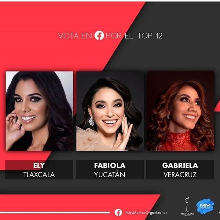 candidatas a miss grand mexico 2020. vencedora: miss sinaloa. IyR58P