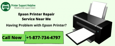 Epson Printer Support Number +1-877-734-4797 toll-free for Repair. Epson printer customer service by Printer Support Helpline USA.  Read More:- https://bit.ly/2RYK9GW