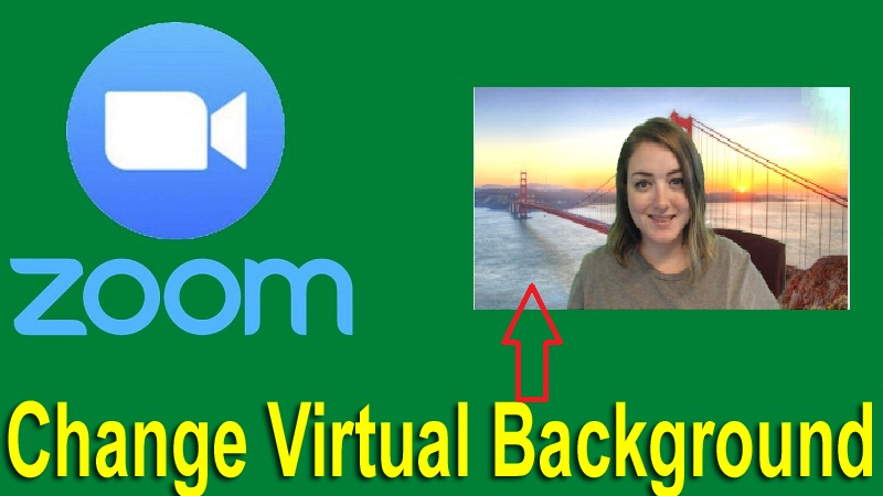 how to change background on Zoom