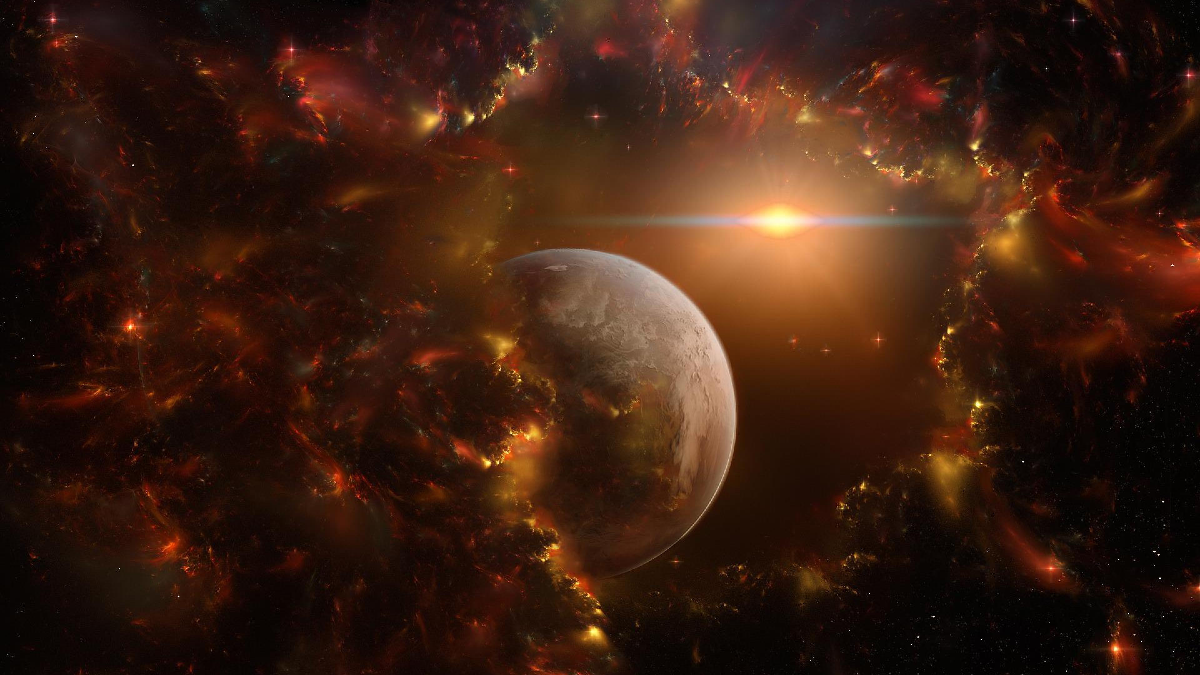 Обои Ужасающий космос картинки на рабочий стол на тему Космос - скачать бесплатно