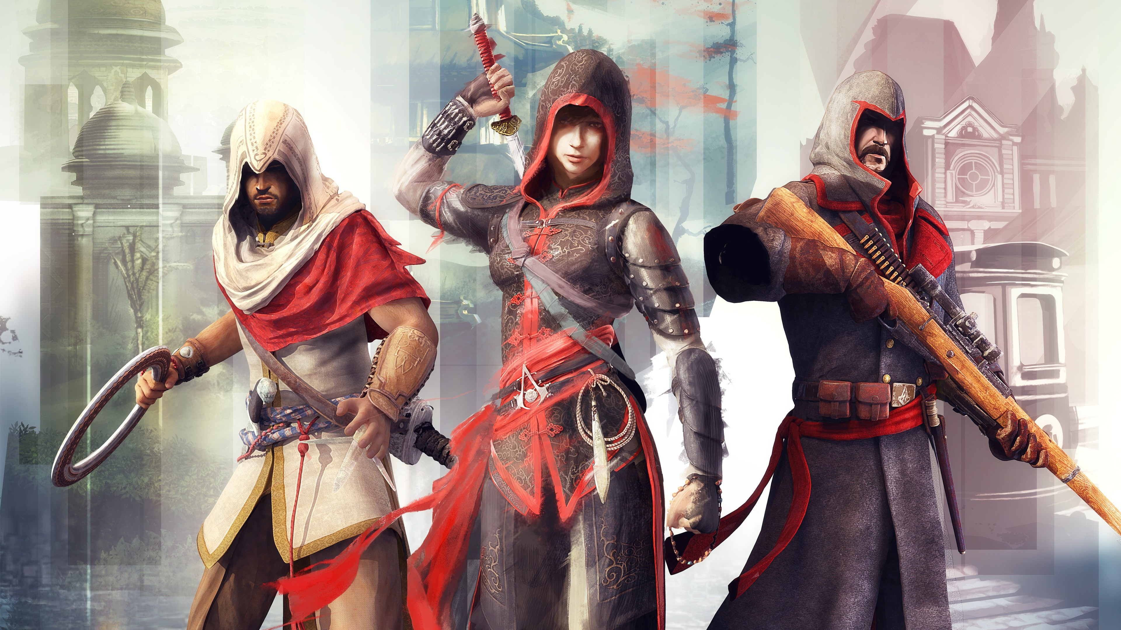 Ultra Hd 4k Background Image Assassins Creed Chronicles