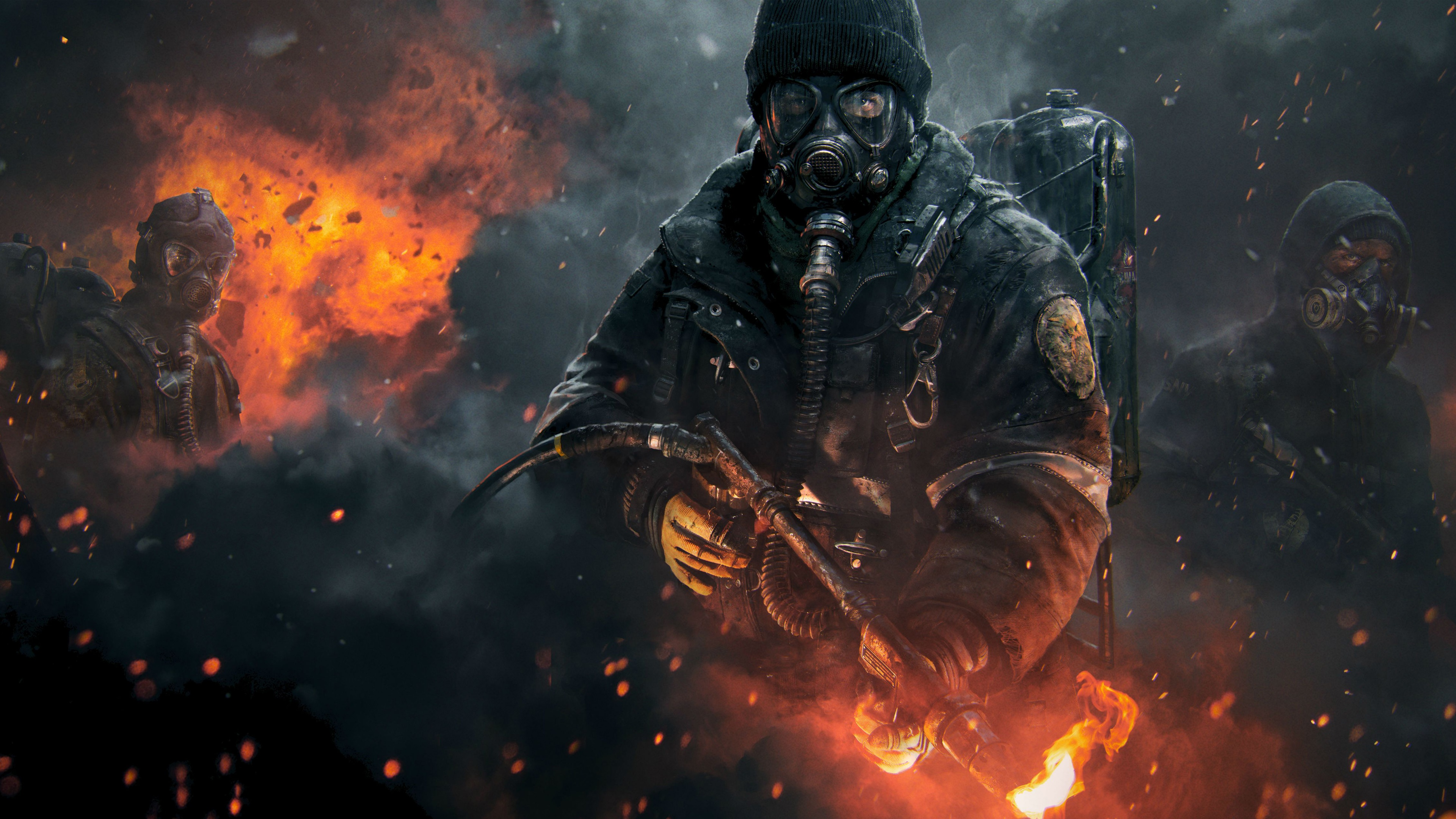 Tom Clancys The Division 4k Wallpaper Imgpile
