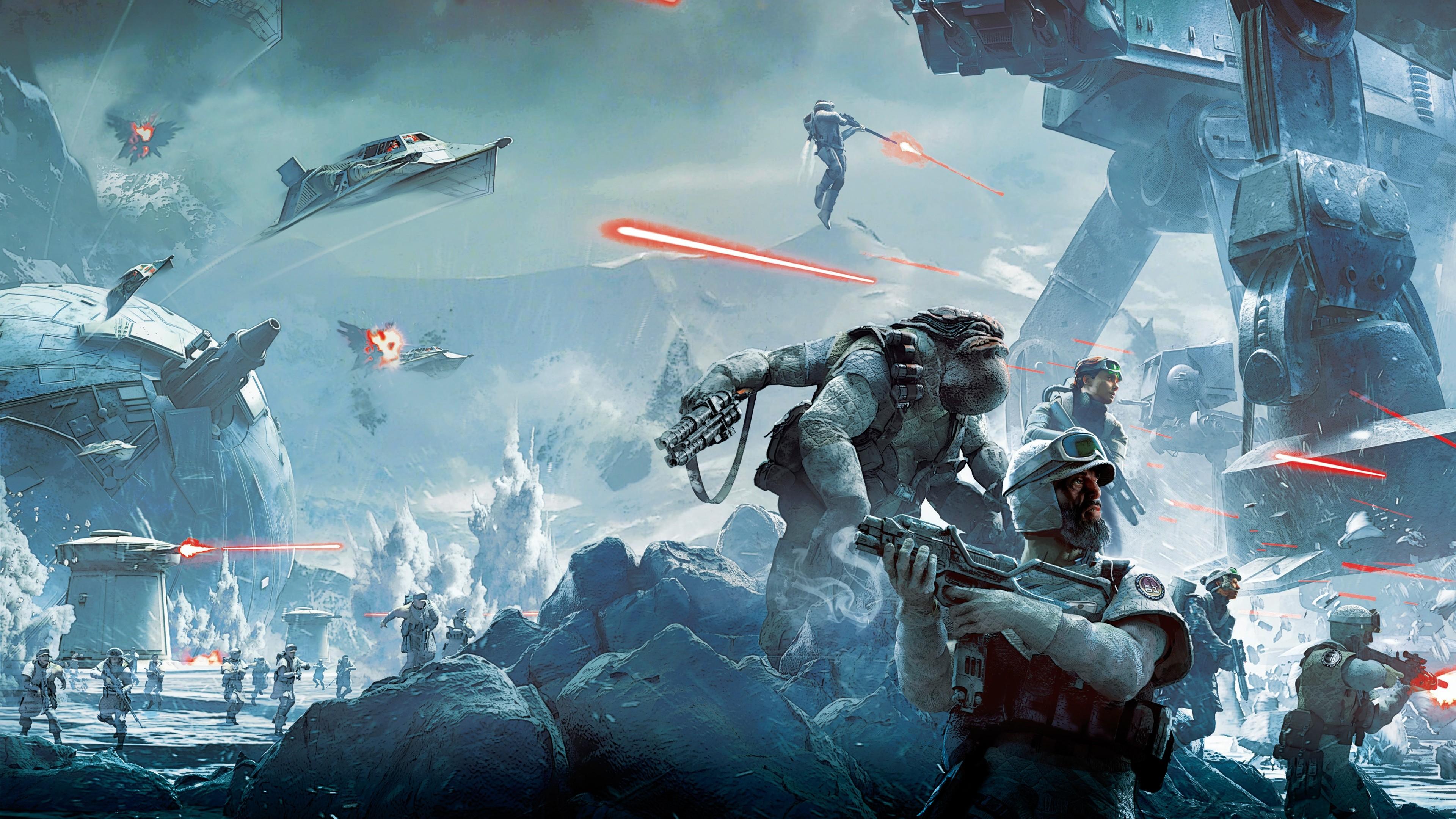 Ultra Hd 4k Star Wars Battlefront Twilight Company Ultra Hd