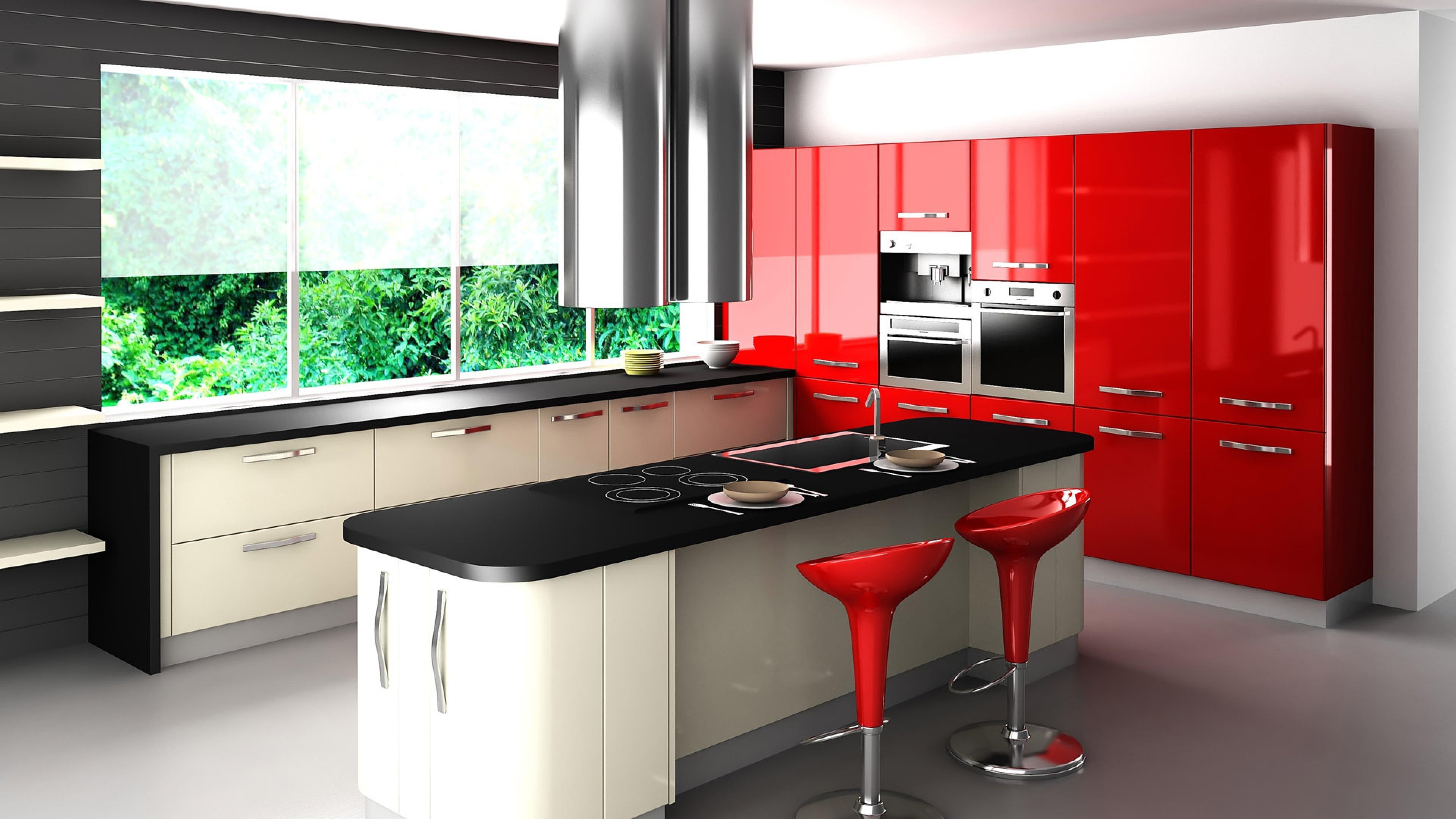 Kitchen Design Interior Design 25705 3840x2160 Ultra Hd Computer
