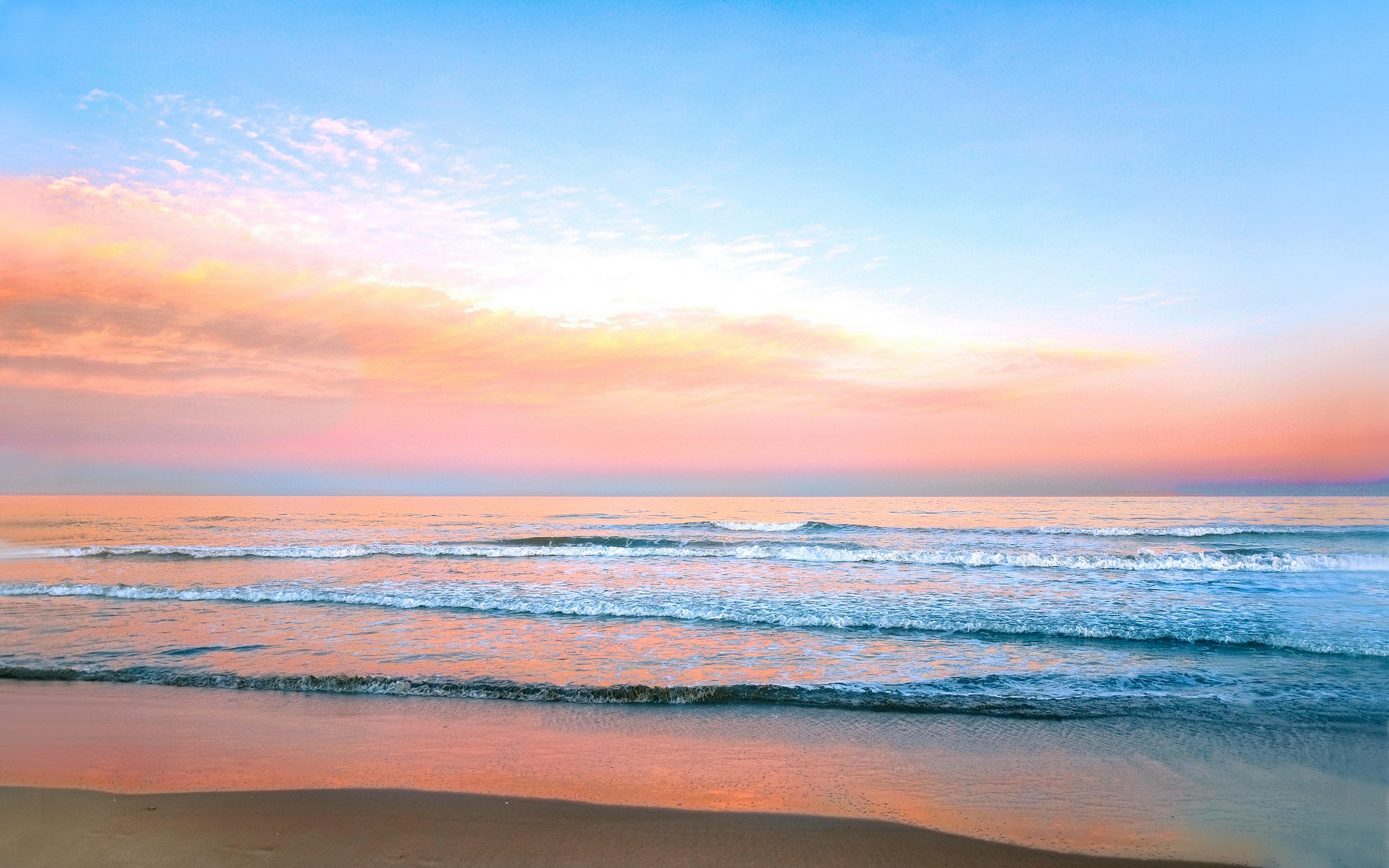 Фото восход на море 4