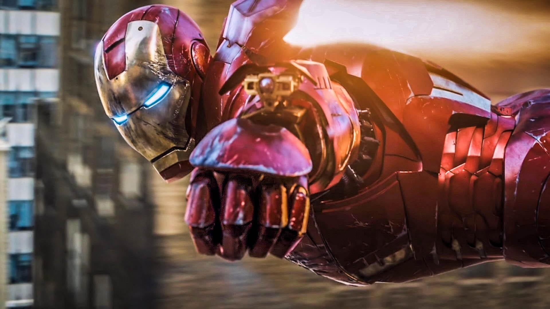 Железный Человек Обои На Рабочий Стол