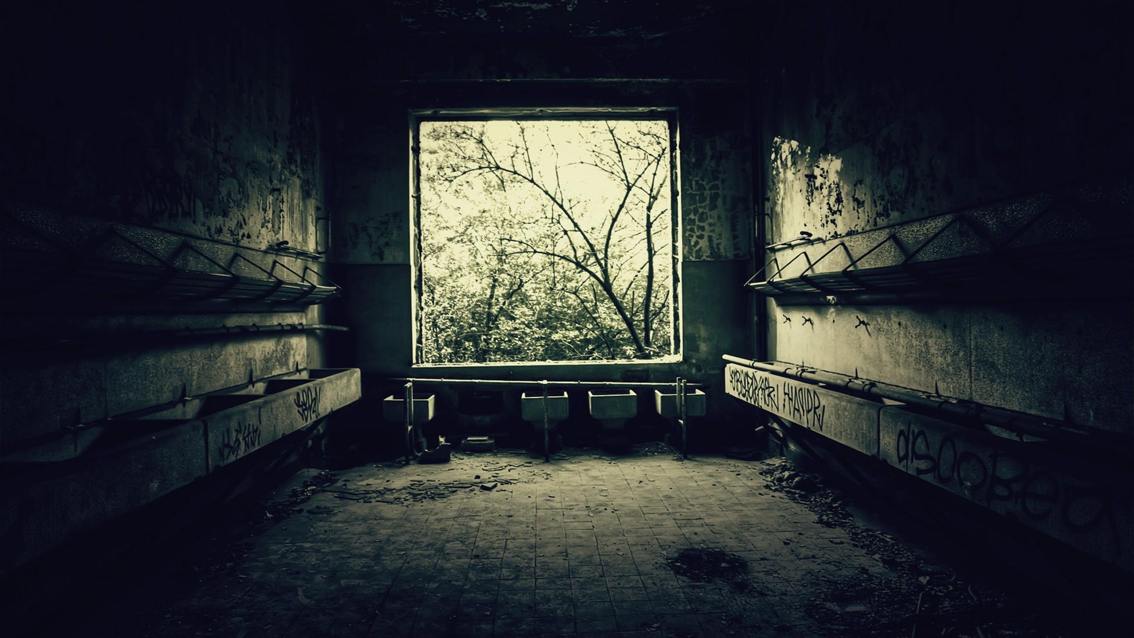 Дом старый комната окно листья загрузить