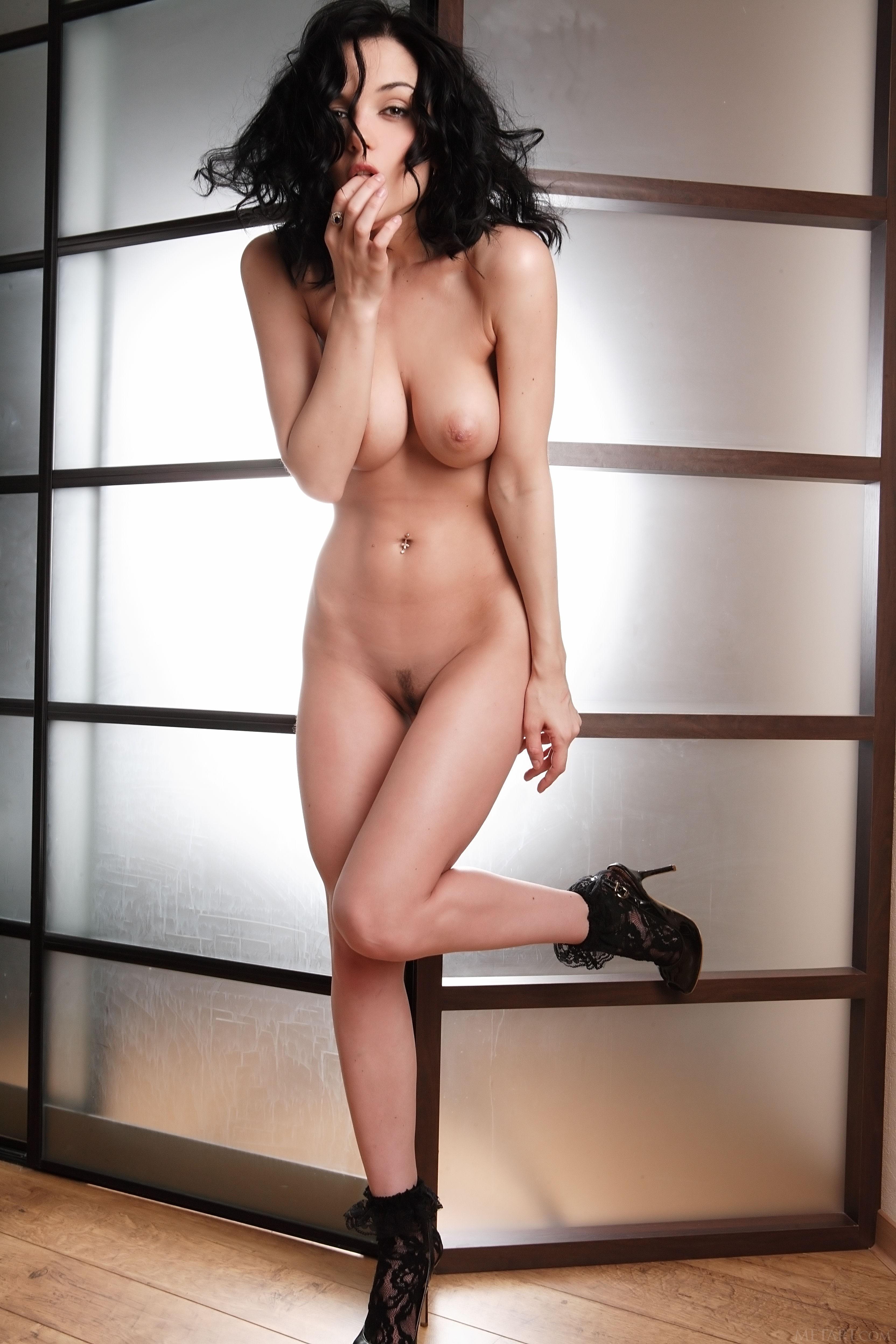 Jenia sexy tanlines undressing
