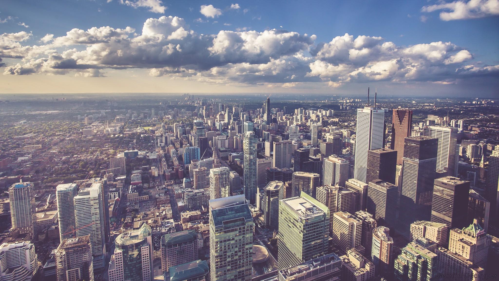 Toronto Skyline, Canada скачать