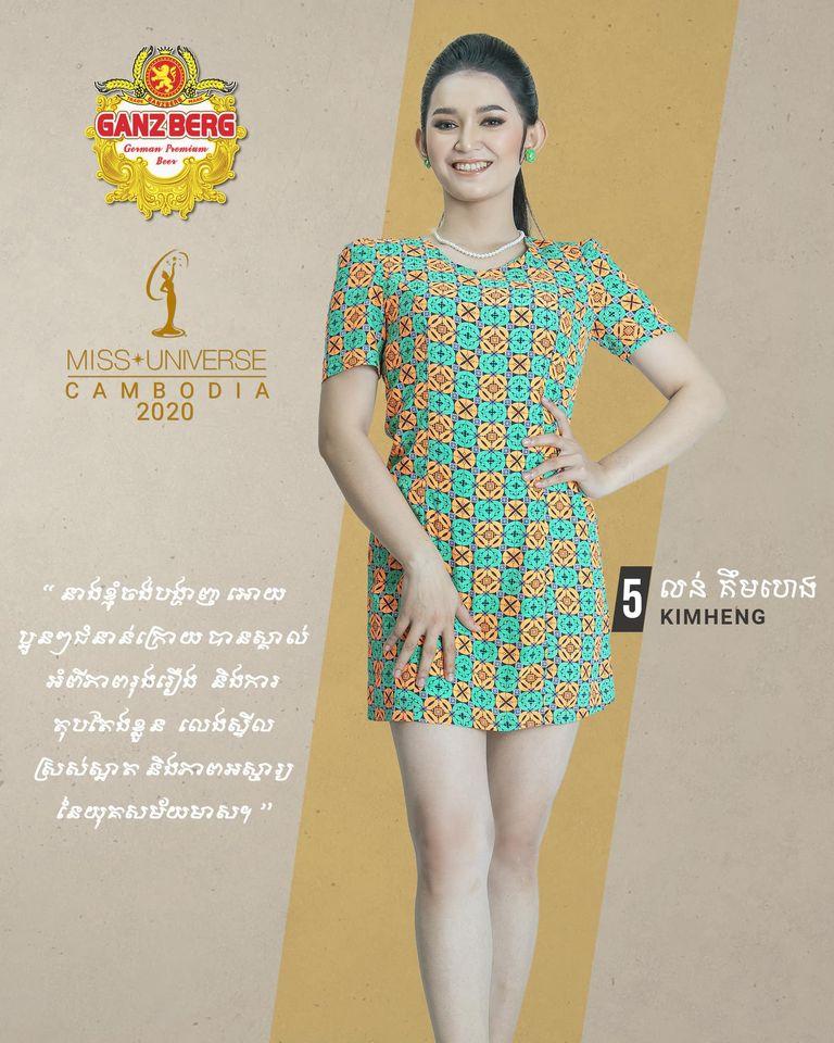 candidatas a miss univese cambodia 2020. final: 26 nov. - Página 2 U0M9OR