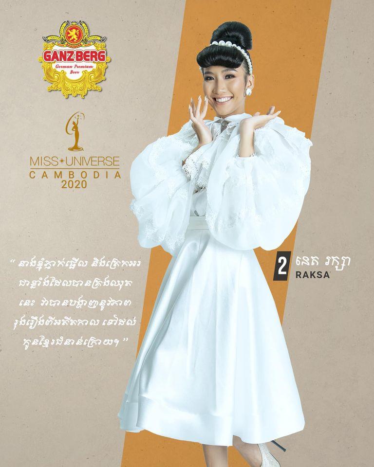 candidatas a miss univese cambodia 2020. final: 26 nov. - Página 2 U0MTQh