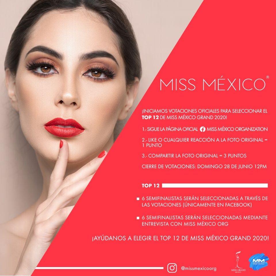 candidatas a miss grand mexico 2020. vencedora: miss sinaloa. - Página 2 U4I4el