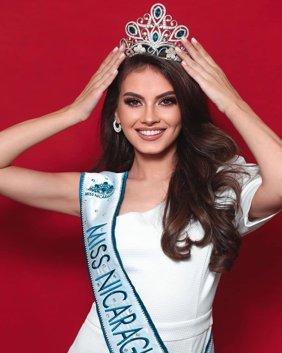 official de miss nicaragua 2020. UDnxbw