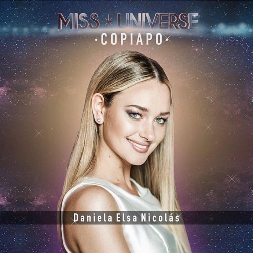 "Actriz Daniela Nicolás será candidata a Miss Universo (chile) 2020: ""Ahora somos mujeres empoderadas"" UI01VW"