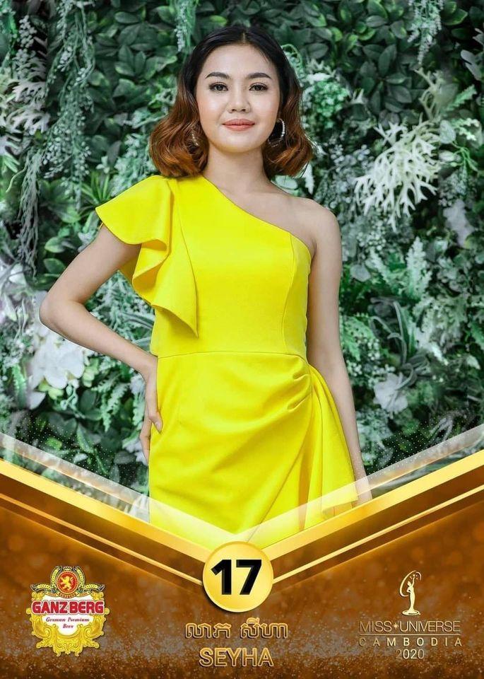 candidatas a miss univese cambodia 2020. final: 26 nov. - Página 2 UW7MCC